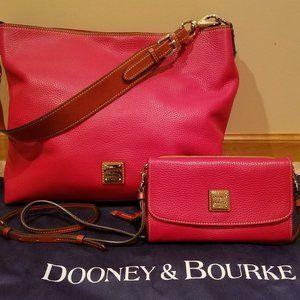 Dooney & Bourke Bag with matching Crossbody Wallet